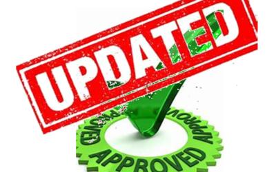 Updated App & Website approval